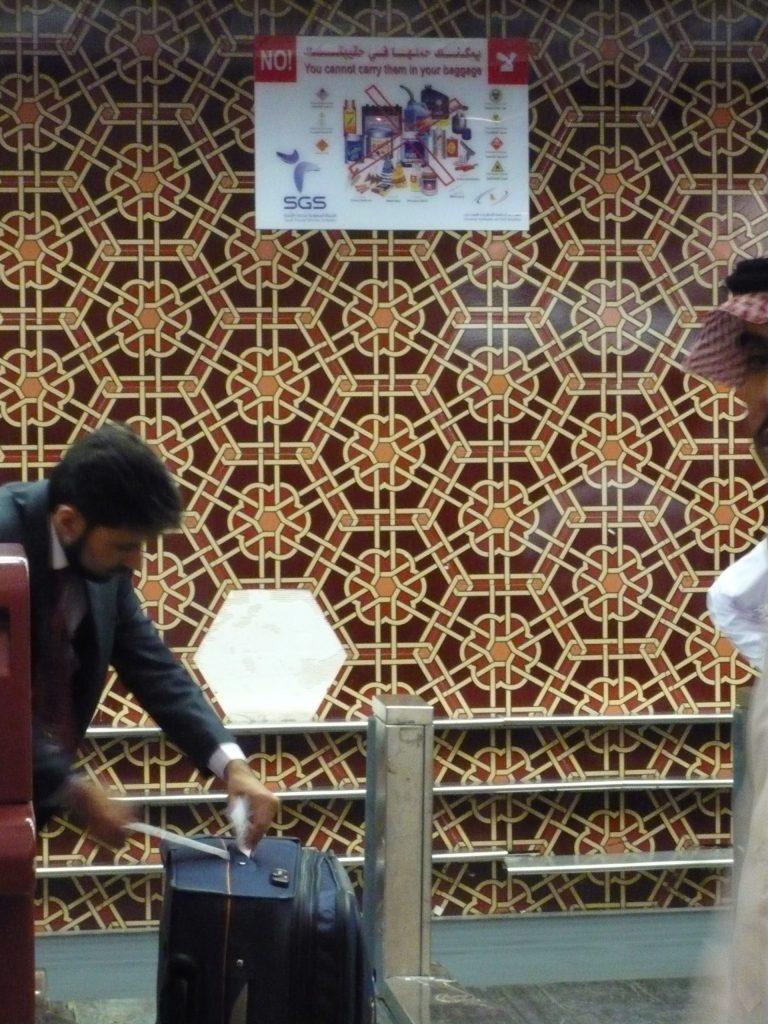 Wand Flughafen Riyadh