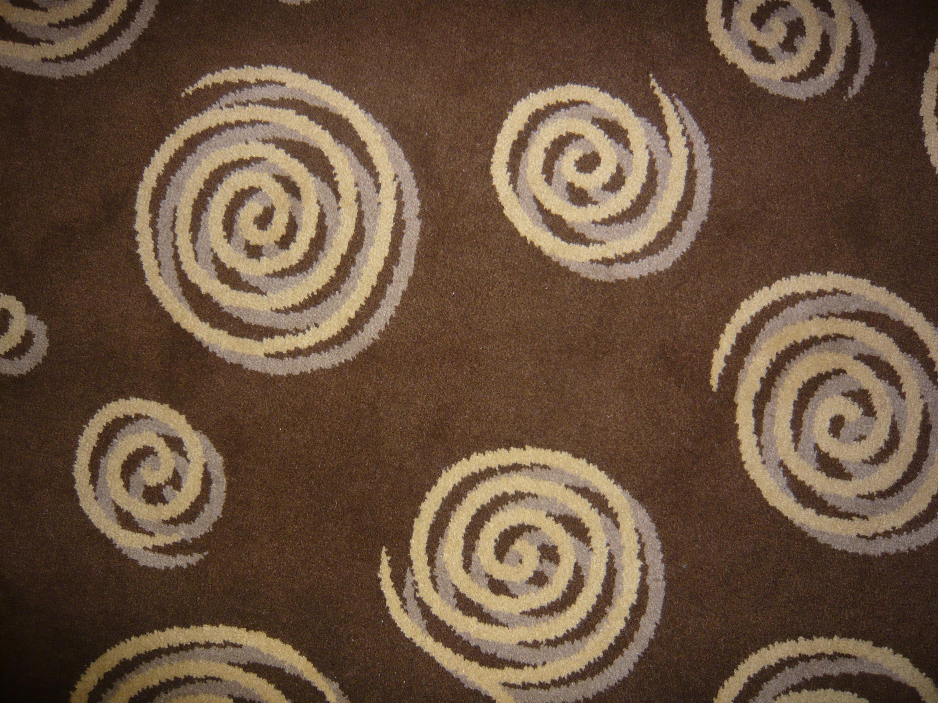 Teppich mit Spiralmuster, Amman, Jordanien