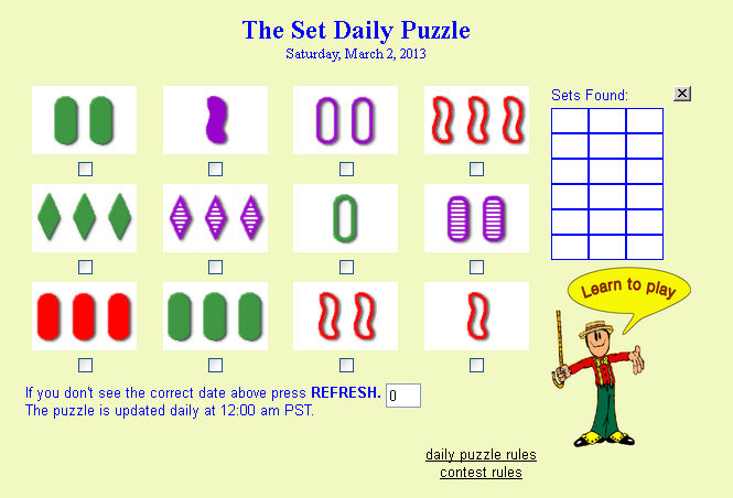 Set Daily Puzzle