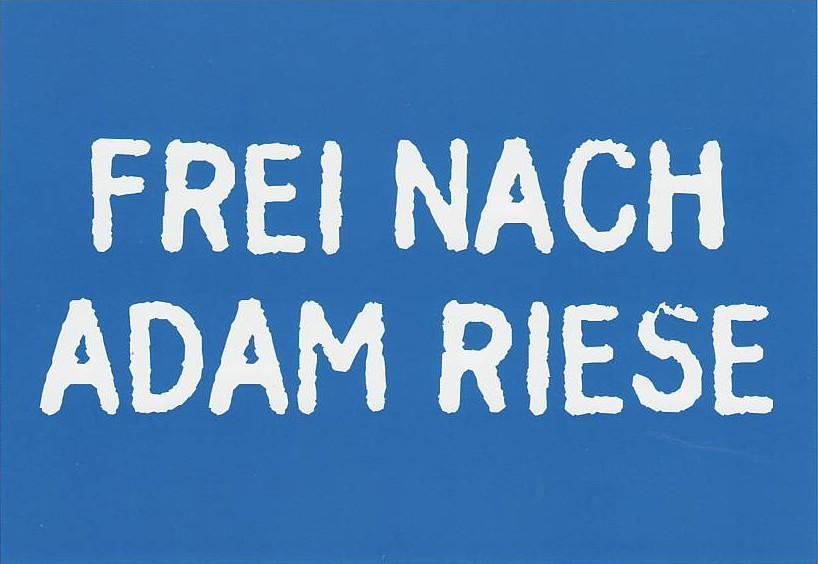 Fundstück Didacta: Frei nach Adam Riese